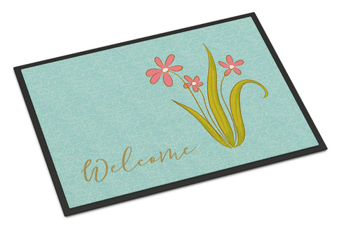 Buy this Flowers Welcome Indoor or Outdoor Mat 18x27 BB8552MAT