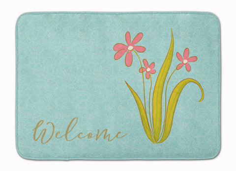 Buy this Flowers Welcome Machine Washable Memory Foam Mat BB8552RUG