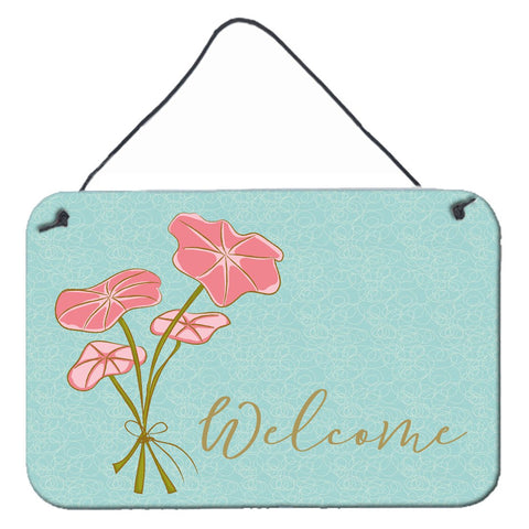 Buy this Bunch of Flowers Welcome Wall or Door Hanging Prints BB8554DS812