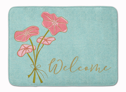 Buy this Bunch of Flowers Welcome Machine Washable Memory Foam Mat BB8554RUG