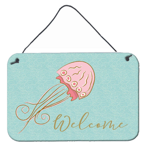 Buy this Jelly Fish Welcome Wall or Door Hanging Prints BB8555DS812