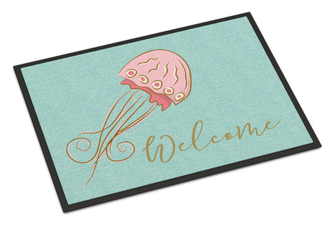 Buy this Jelly Fish Welcome Indoor or Outdoor Mat 24x36 BB8555JMAT