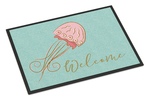 Buy this Jelly Fish Welcome Indoor or Outdoor Mat 18x27 BB8555MAT