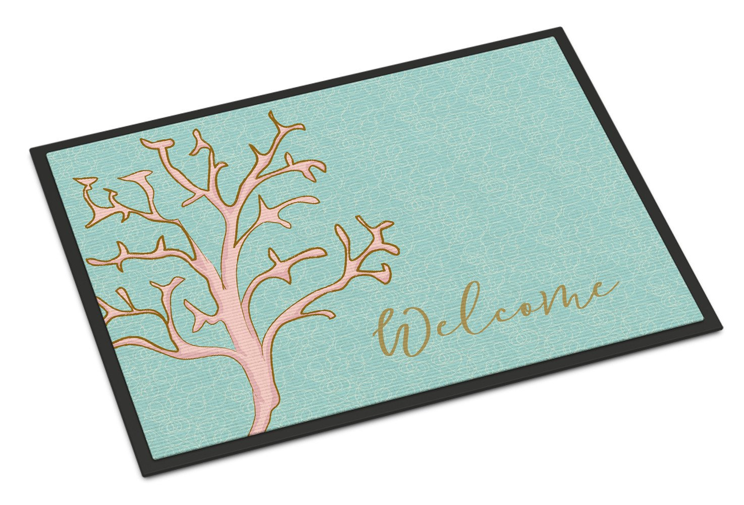 Buy this Coral Welcome Indoor or Outdoor Mat 24x36 BB8556JMAT