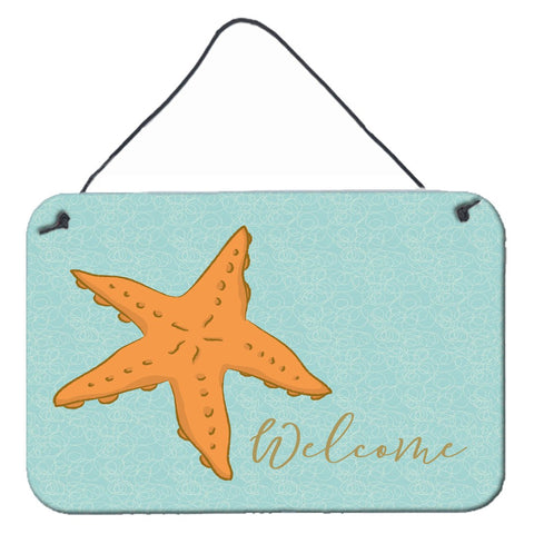 Buy this Starfish Welcome Wall or Door Hanging Prints BB8559DS812