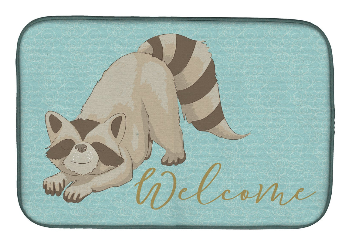 Buy this Raccoon Welcome Dish Drying Mat BB8560DDM