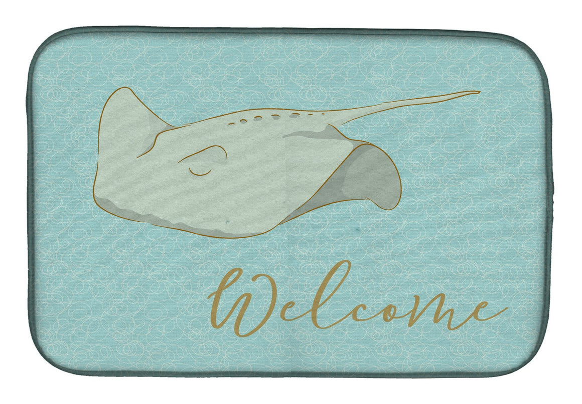 Buy this Sting Ray Welcome Dish Drying Mat BB8561DDM