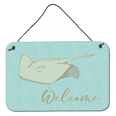 Buy this Sting Ray Welcome Wall or Door Hanging Prints BB8561DS812