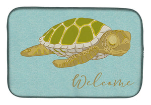Buy this Sea Turtle Welcome Dish Drying Mat BB8562DDM