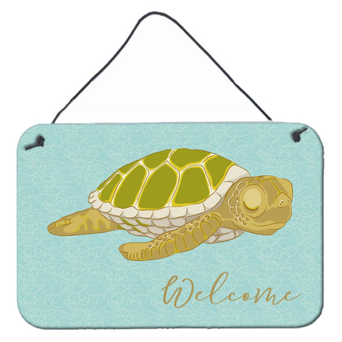 Buy this Sea Turtle Welcome Wall or Door Hanging Prints BB8562DS812