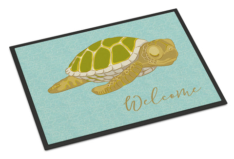 Buy this Sea Turtle Welcome Indoor or Outdoor Mat 18x27 BB8562MAT