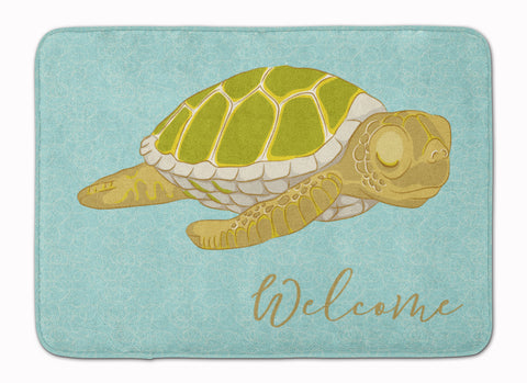 Buy this Sea Turtle Welcome Machine Washable Memory Foam Mat BB8562RUG