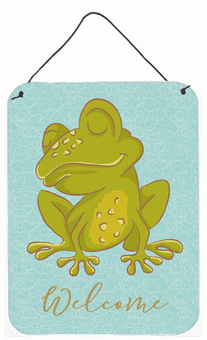 Buy this Frog Welcome Wall or Door Hanging Prints BB8564DS1216