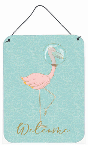 Buy this Flamingo Underwater Welcome Wall or Door Hanging Prints BB8565DS1216
