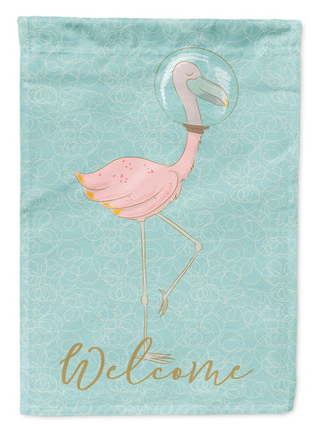 Buy this Flamingo Underwater Welcome Flag Garden Size BB8565GF