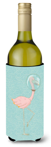 Buy this Flamingo Underwater Wine Bottle Beverge Insulator Hugger BB8565LITERK
