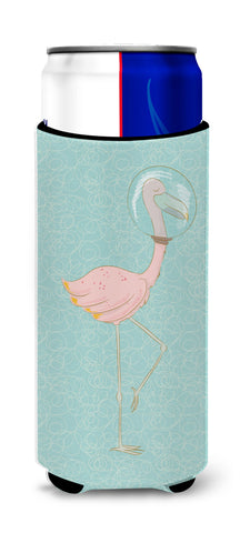 Buy this Flamingo Underwater Michelob Ultra Hugger for slim cans BB8565MUK
