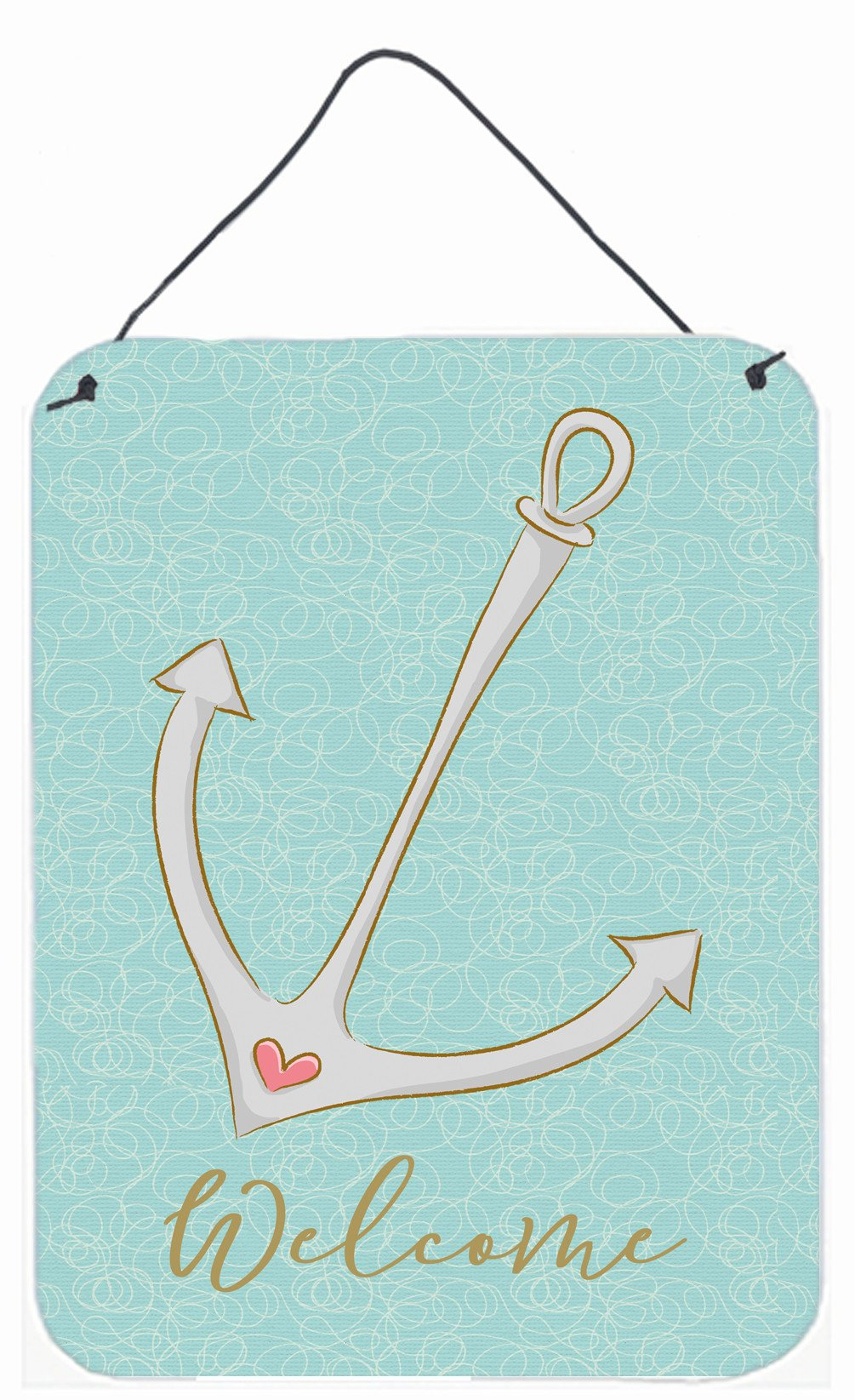 Buy this Anchor Welcome Wall or Door Hanging Prints BB8566DS1216
