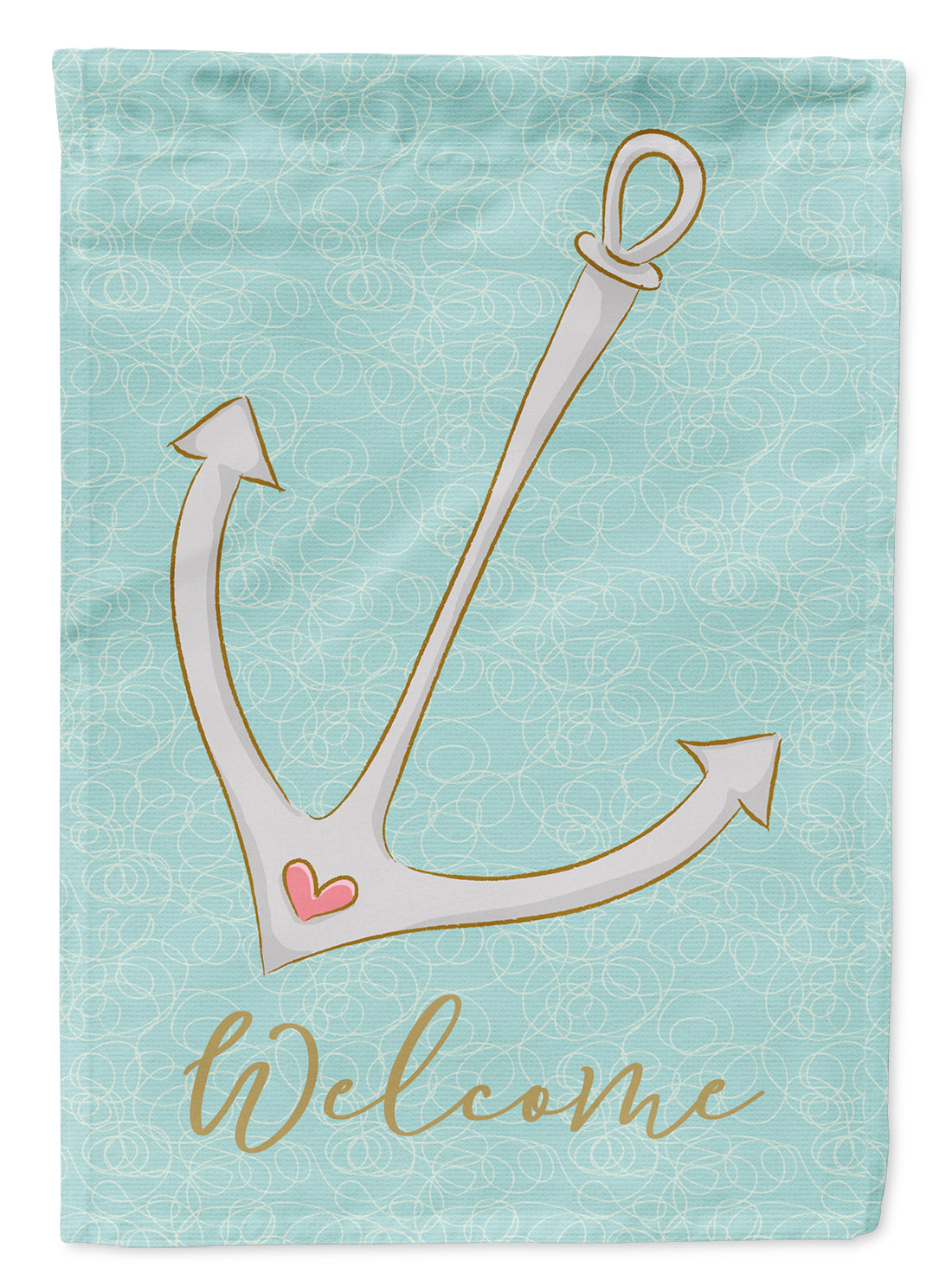 Anchor Welcome Flag Garden Size BB8566GF by Caroline's Treasures