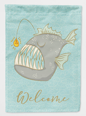 Buy this Frog Fish Welcome Flag Garden Size BB8567GF