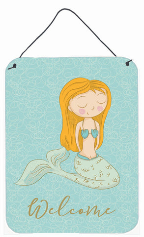 Buy this Mermaid Welcome Wall or Door Hanging Prints BB8568DS1216