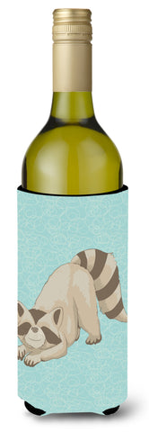 Buy this Raccoon Wine Bottle Beverge Insulator Hugger BB8569LITERK