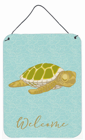 Buy this Sea Turtle Welcome Wall or Door Hanging Prints BB8570DS1216