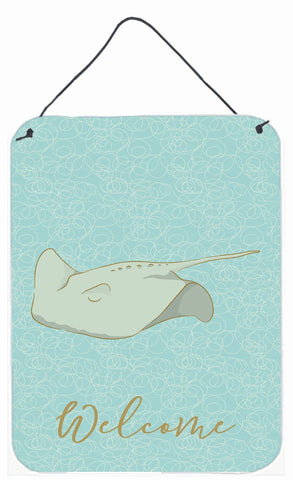 Buy this Sting Ray Welcome Wall or Door Hanging Prints BB8571DS1216