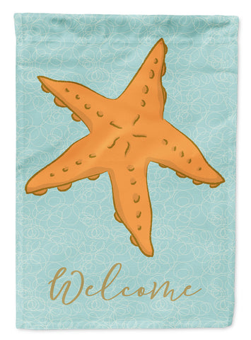 Buy this Starfish Welcome Flag Garden Size BB8572GF