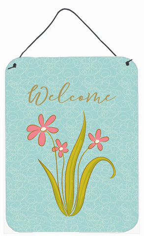 Buy this Flowers Welcome Wall or Door Hanging Prints BB8574DS1216