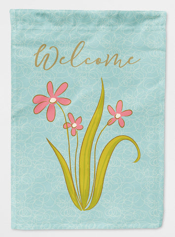 Buy this Flowers Welcome Flag Garden Size BB8574GF