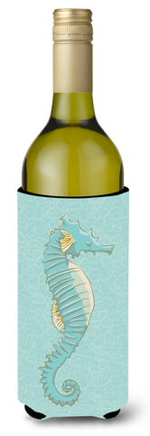 Buy this Seahorse Wine Bottle Beverge Insulator Hugger BB8575LITERK