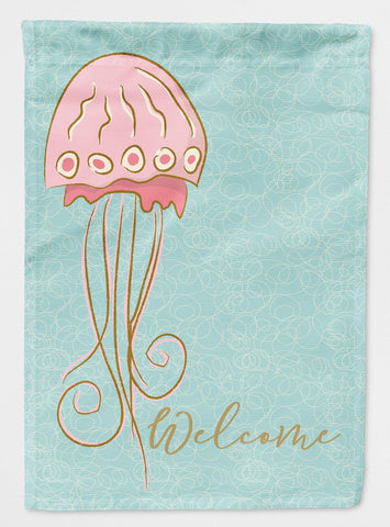 Buy this Jelly Fish Welcome Flag Garden Size BB8576GF