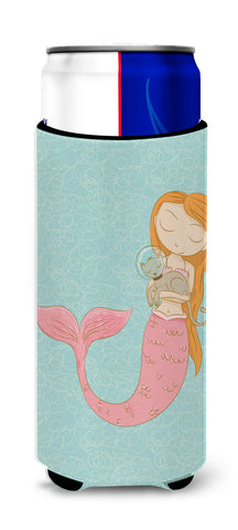 Buy this Mermaid with Cat Michelob Ultra Hugger for slim cans BB8577MUK