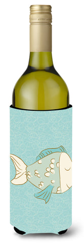 Buy this Blue Fish Wine Bottle Beverge Insulator Hugger BB8578LITERK