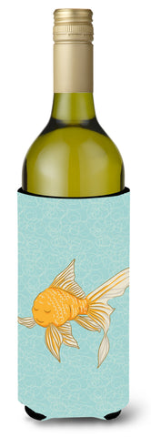 Buy this Gold Fish Wine Bottle Beverge Insulator Hugger BB8579LITERK