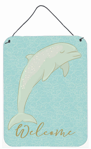 Buy this Dolphin Welcome Wall or Door Hanging Prints BB8581DS1216