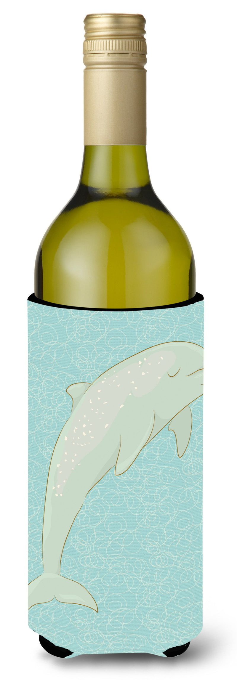 Buy this Dolphin Wine Bottle Beverge Insulator Hugger BB8581LITERK