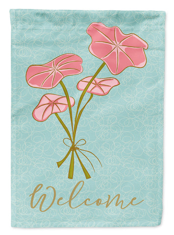 Buy this Bunch of Flowers Welcome Flag Canvas House Size BB8582CHF