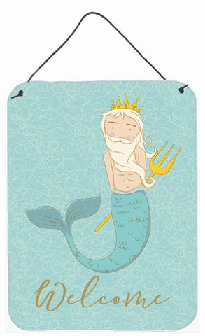 Buy this Neptune Merman Welcome Wall or Door Hanging Prints BB8584DS1216