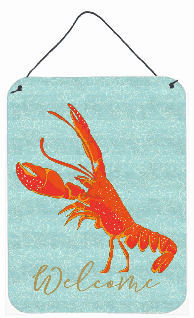 Buy this Lobster Welcome Wall or Door Hanging Prints BB8585DS1216