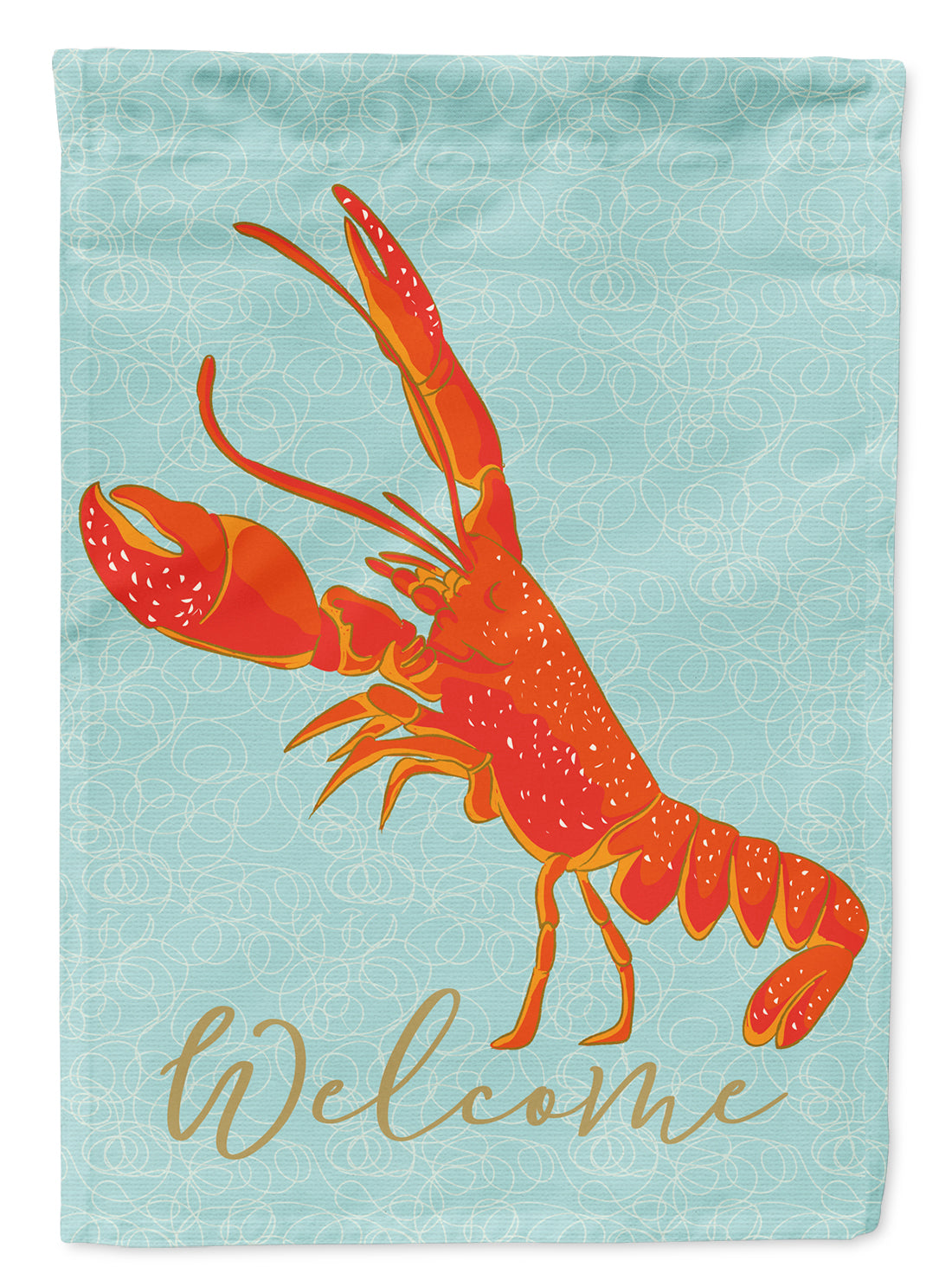 Lobster Welcome Flag Garden Size BB8585GF by Caroline's Treasures