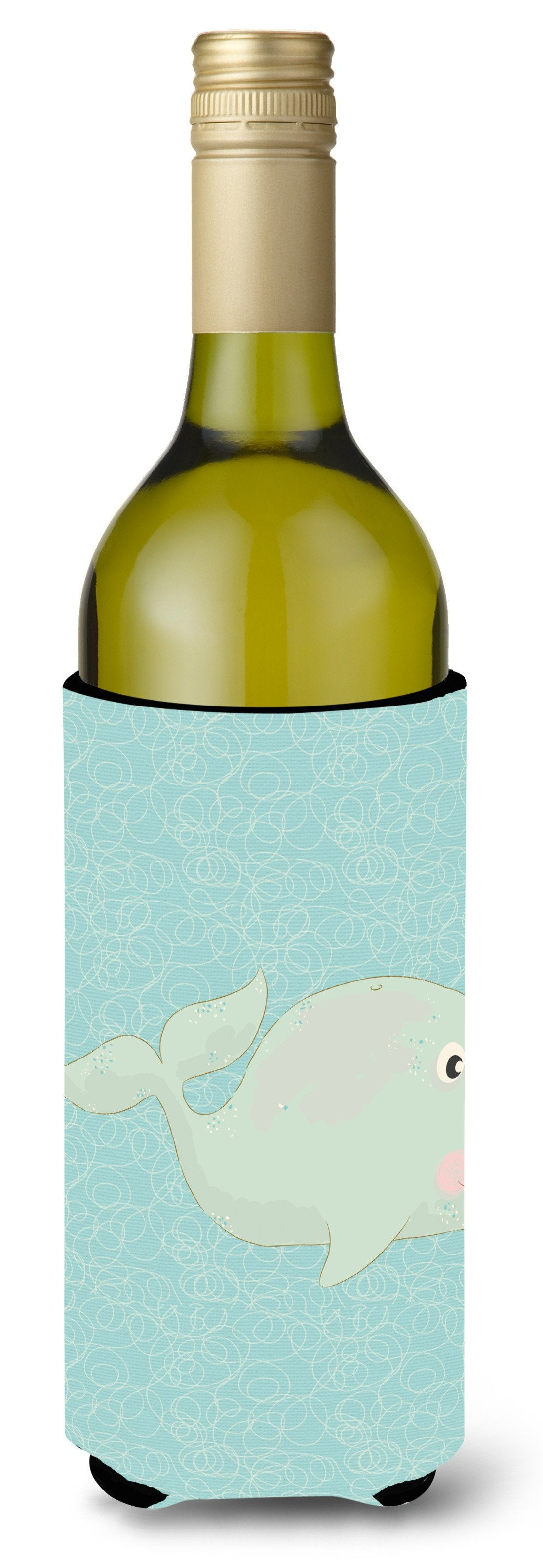 Buy this Whale Wine Bottle Beverge Insulator Hugger BB8586LITERK