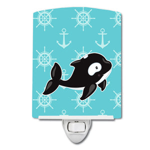 Buy this Whale and Anchors Ceramic Night Light BB8602CNL