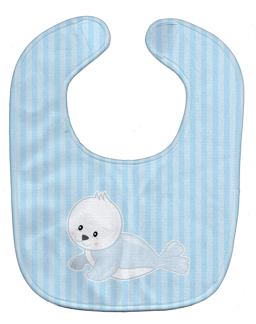 Buy this Seal on Stripes Baby Bib BB8604BIB