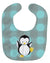 Buy this Penguin on Polkadot Baby Bib BB8605BIB