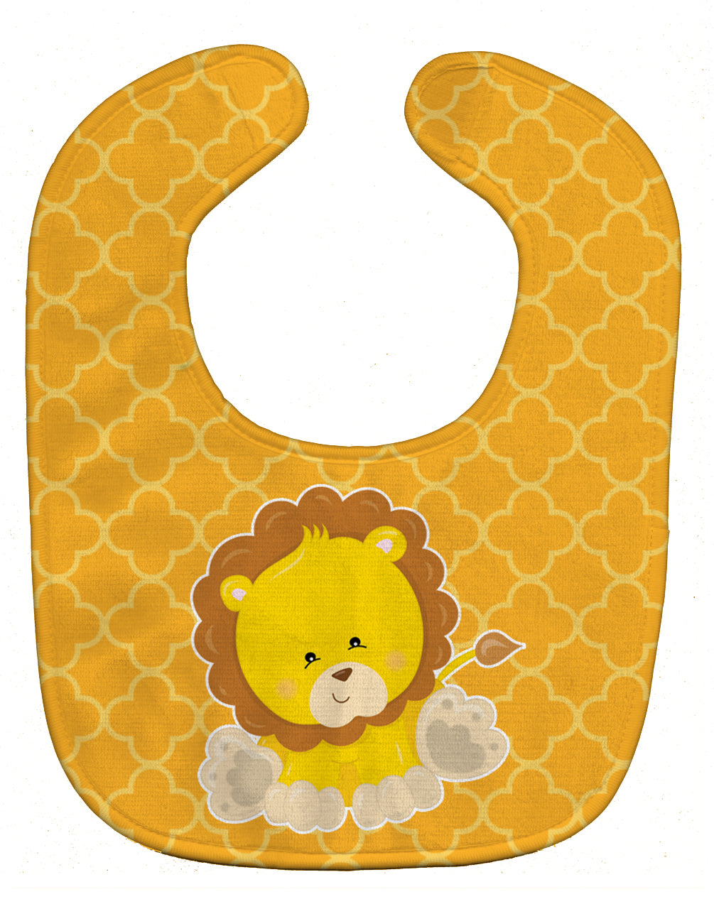 Lion on Quatrafoil Baby Bib BB8606BIB by Caroline's Treasures
