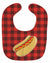 Backyard BBQ Hot Dog Baby Bib BB8628BIB by Caroline's Treasures