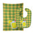 Backyard BBQ Lemonade #1 Baby Bib & Burp Cloth BB8635STBU by Caroline's Treasures