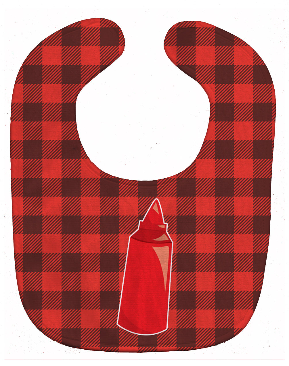 Backyard BBQ Ketchup Baby Bib BB8638BIB by Caroline's Treasures